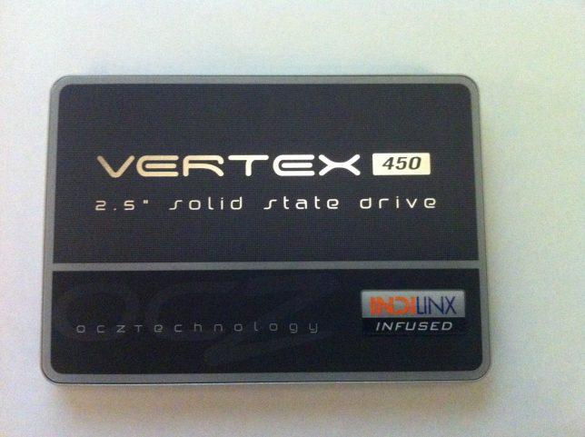 OCZ Vertex 450 Ön