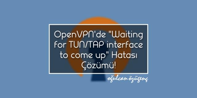 OpenVPN'de