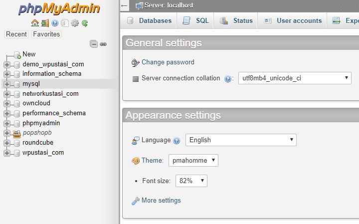 phpMyAdmin ile WordPress Admin Şifresini Sıfırlamak 1