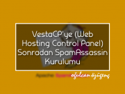 VestaCP'ye (Web Hosting Control Panel) Sonradan SpamAssassin Kurulumu
